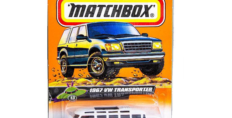 Matchbox Cars 1967 VW Transporter  Marked 1998 Damaged package