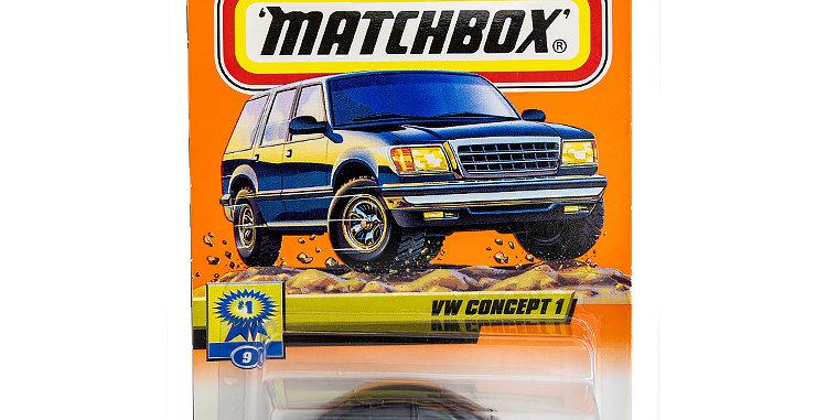 Matchbox Cars VW Concept 1 Marked 1999