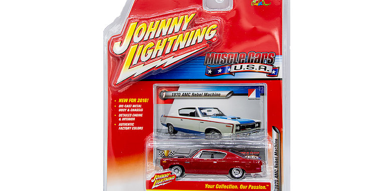 Johnny Lightning Muscle Cars USA 2016 #1 1970 AMC Rebel Machine