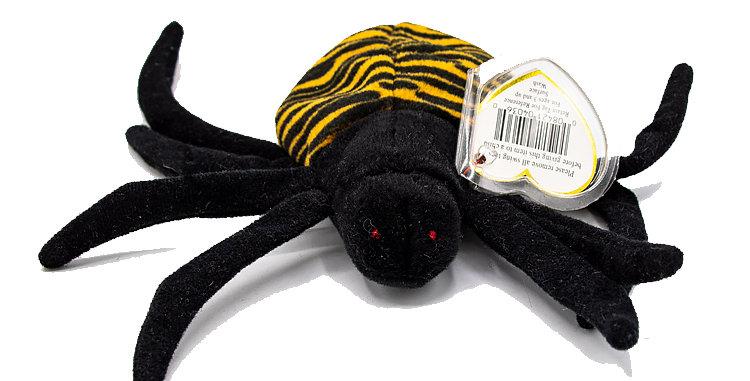 Beanie Babies Spinner the Spider Beanie Baby