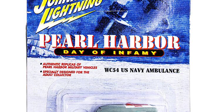 Johnny Lightning Car Pearl Harbor WC54 Ambulance