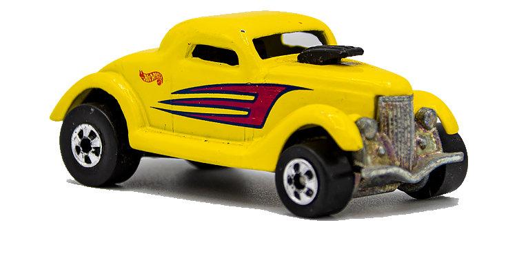 Hot Wheels Loose Yellow Deuce Coupe