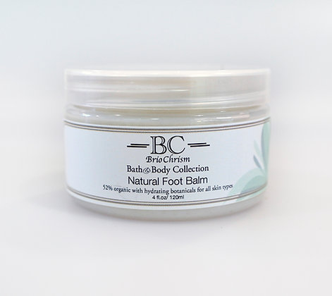 Natural Foot Balm (4 oz)