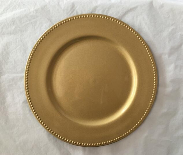 Gold Charger Plates
