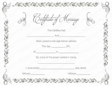 Michigan Marriage License