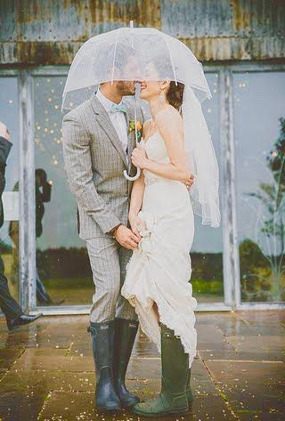 Rain On Your Wedding Day? Lucky YOU!