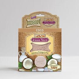 Whoop! Jabón Natural Artesanal de Coco