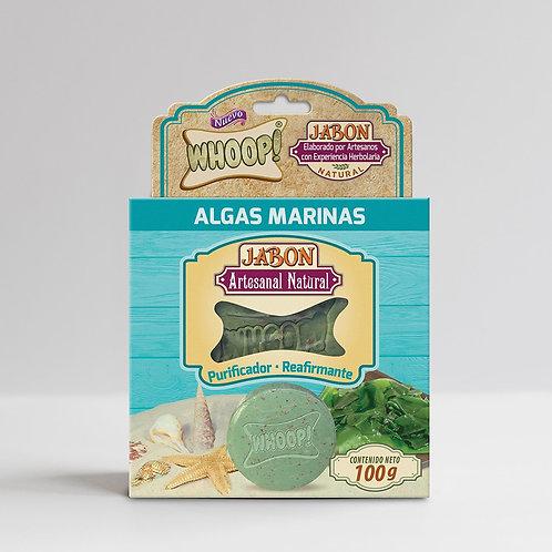 Whoop! Jabón Artesanal Natural de Algas Marinas