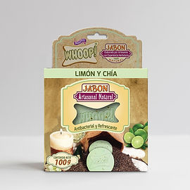 Whoop! Jabón Natural Artesanal de Limón y Chía