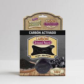 Whoop! Jabón Natural Artesanal de Carbón Activado