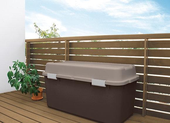 Outdoor Garden Storage Box 880 (Brown)