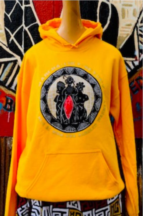 Anarcha, Lucy & Betsey Yellow Hoodie