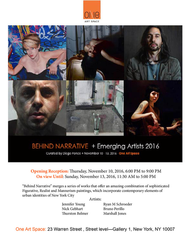 Behind Narrative+Emerging Artists 2016