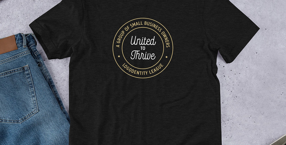 United to Thrive | Logodentity League T-Shirt