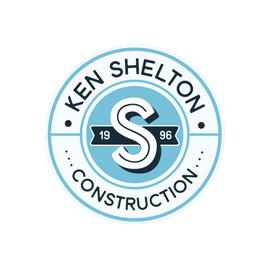 Ken Shelton Construction Logo Design