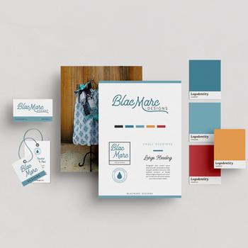 BlacMarc Designs: Brand & Collateral Design