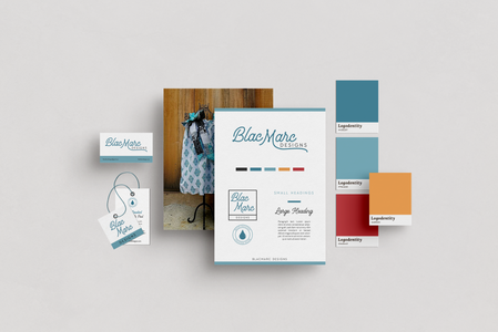 Branding Design for BlacMarc Designs