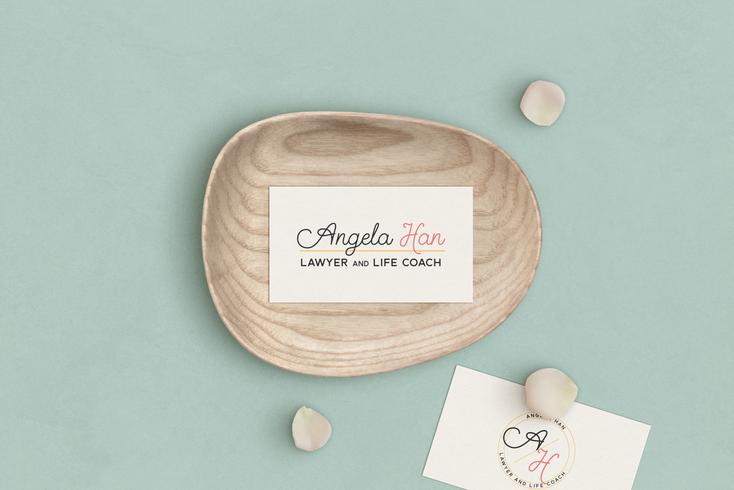 Angela Han's Logo and Submark Design by Ashley at Logodentity