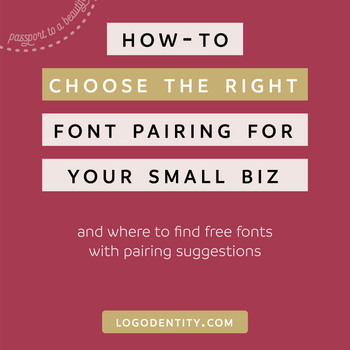 How to Choose The Right Font Pairing for You