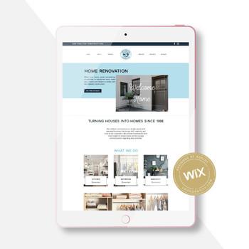 Ken Shelton Construction: Branding & Wix Website Design Project