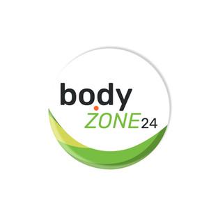 bodyzone24 round logo design by Logodent