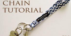 Key Hook Wristlet Tutorial