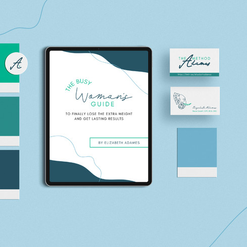The Adames Method Brand Design by Ashley at Logodentity