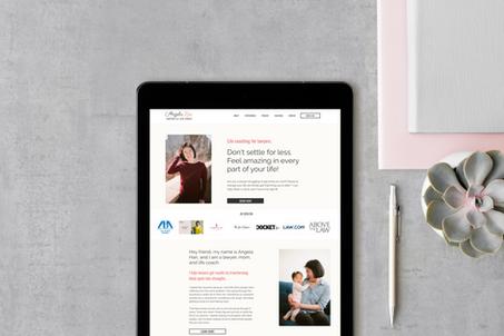 Angela Han Economy Website Passport Design