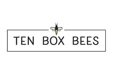 Ten Box Bees Alternate Logo designed by Logodentity