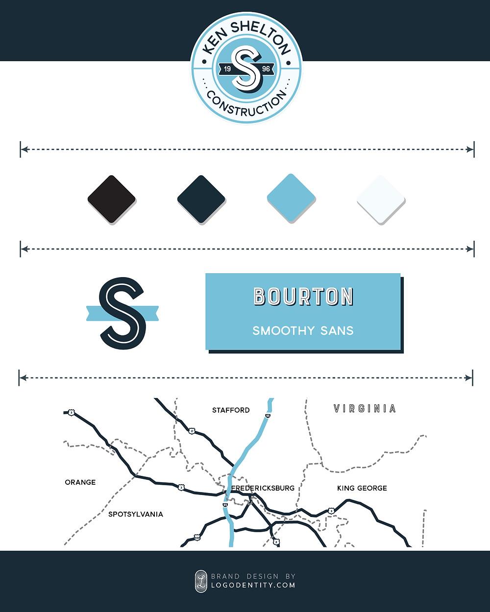 Ken Shelton Construction's Mini Brand Style Guide