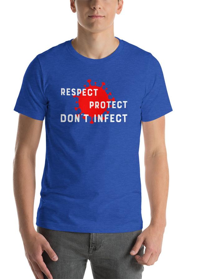 Respect Protect Tee Shirt Design for KSC