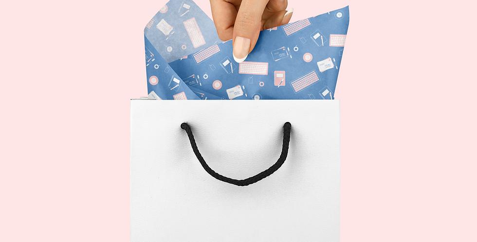 Custom Tissue Paper Design