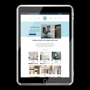Wix Website Design for Ken Shelton Construction by Ashley @ Logodentity