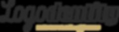 Logodentity Logo - Ink Gold - Tagline.pn