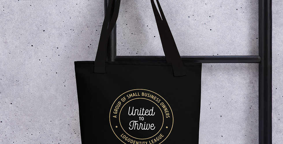 United to Thrive Logodentity League Tote