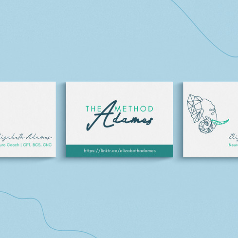 The Adames Method Business Card Design by Ashley at Logodentity