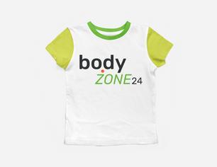 bodyzone24 tee shirt design