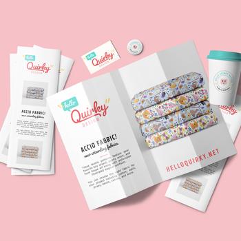 Hello Quirky Design: Branding & Social Graphic Design Project