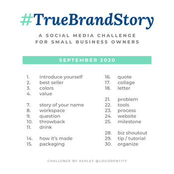 The #TrueBrandStory Challenge for Small Businesses