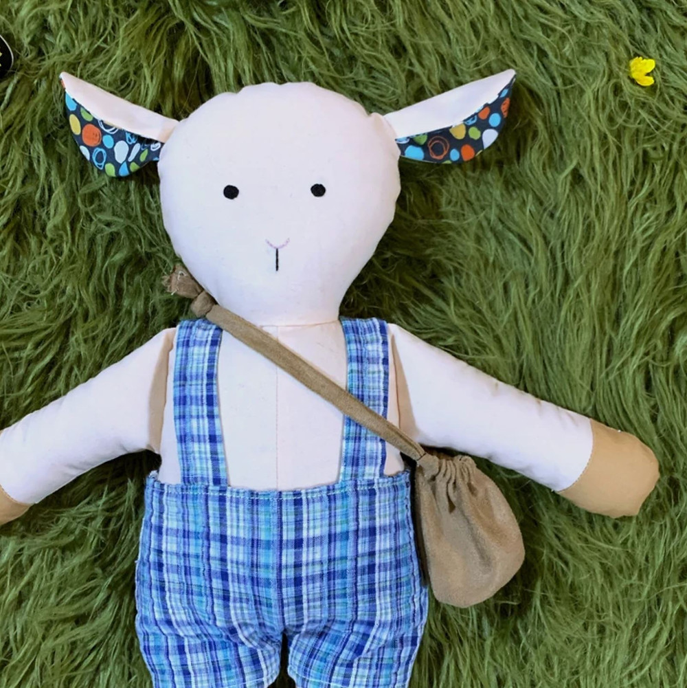 Heirloom Lamb Stuffie by HP Boutiques