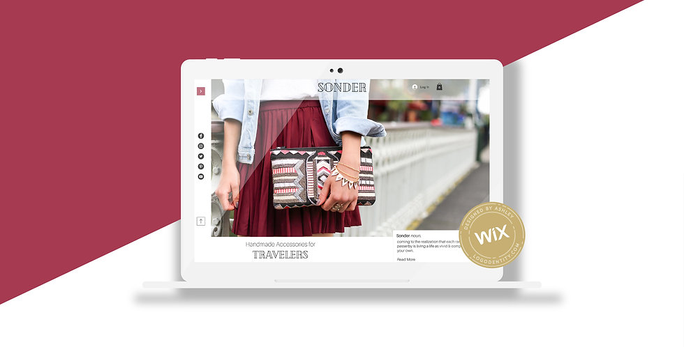 Sonder | Wix Website Template