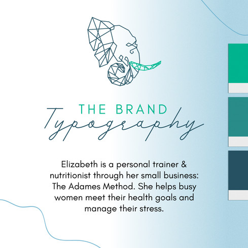 The Adames Method Font Pairings by Ashley at Logodentity