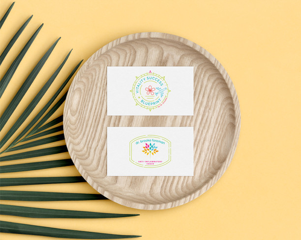 Dr. Brooke's Logo Set Design by Ashley at Logodentity