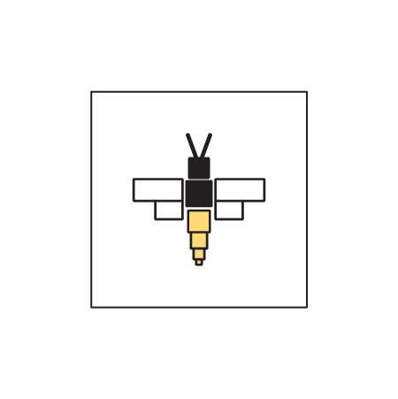 Ten Box Bees Brand Mark design by Logodentity