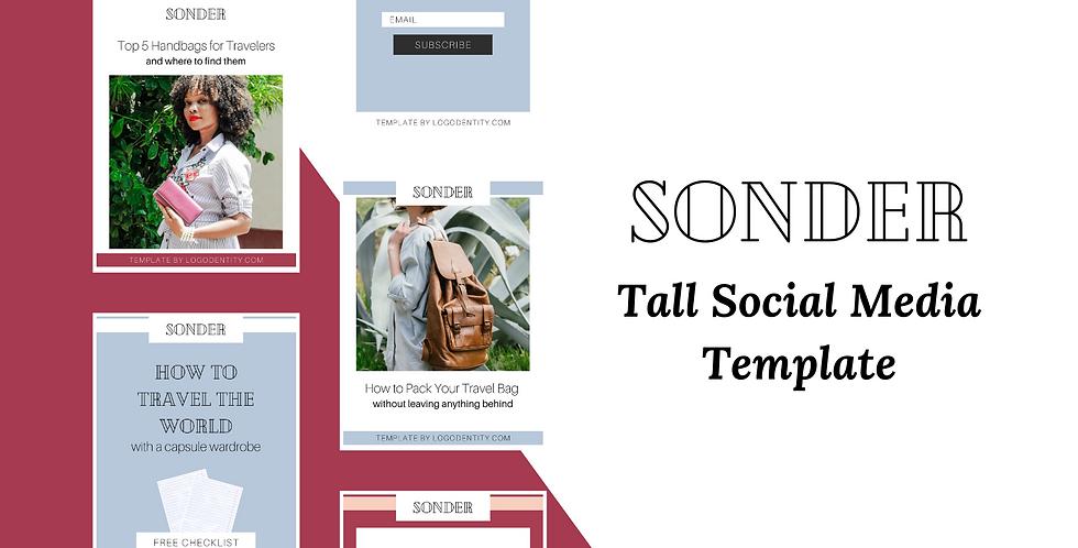 Sonder | Tall Social Media Template