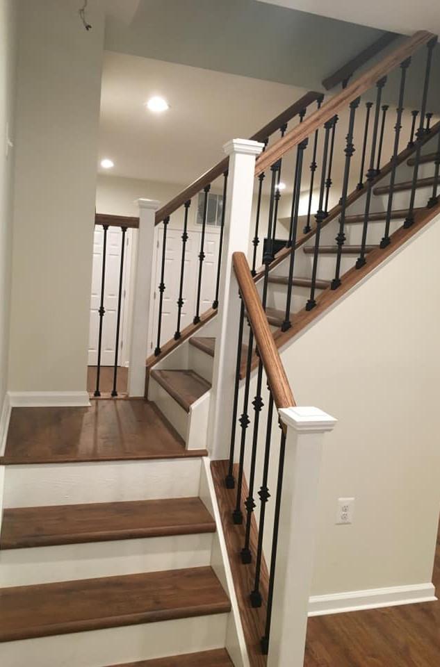Custom Staircase by Ken Shelton Construction