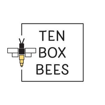Ten Box Bees: Branding and Label Design Project