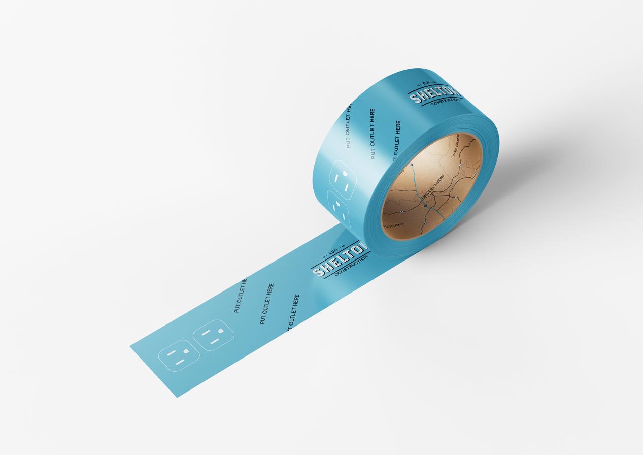 Outlet Tape for Ken Shelton Construction