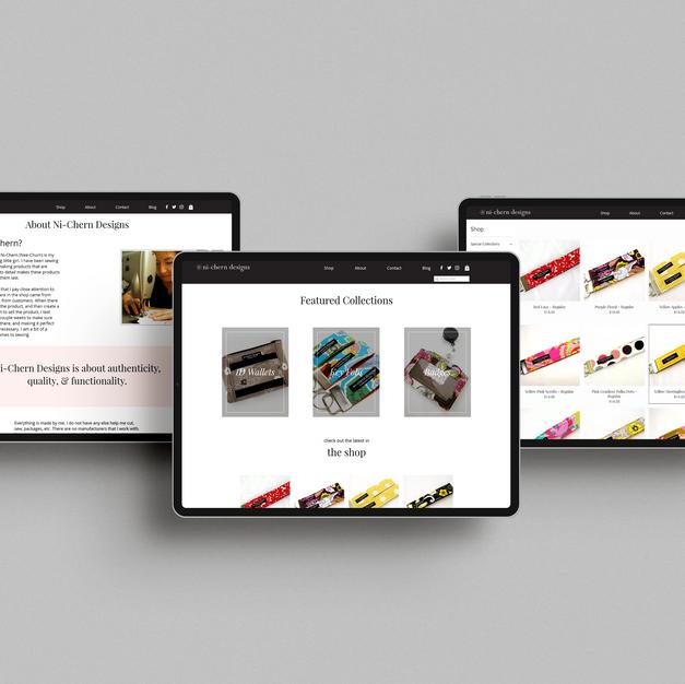 ni-chern designs Web Design by Logodenti