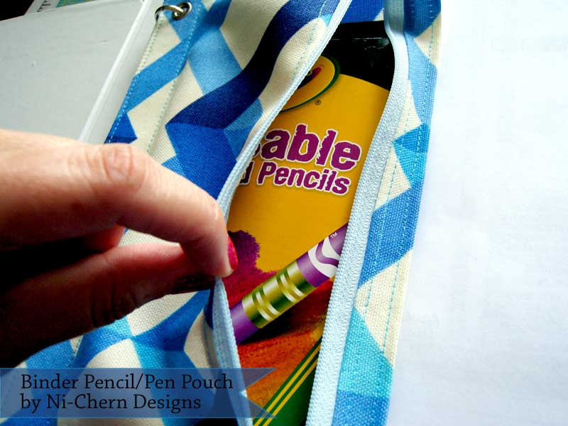 Inside Binder Pencil Pouch